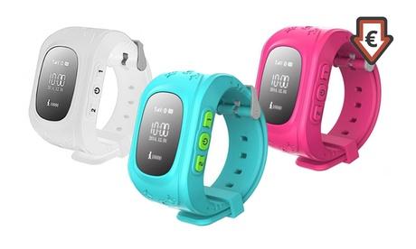 Smartwach infantil con localizador GPS y pantalla LED