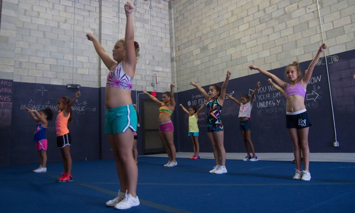 Pride All Star Cheer - Union Park: Four Weeks of Cheerleading Classes at Pride All Star Cheer (50% Off)