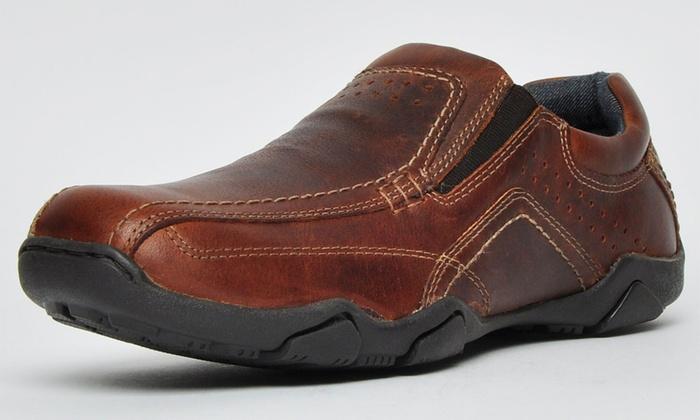 Red Tape Slip On Leder Schuhe | Groupon