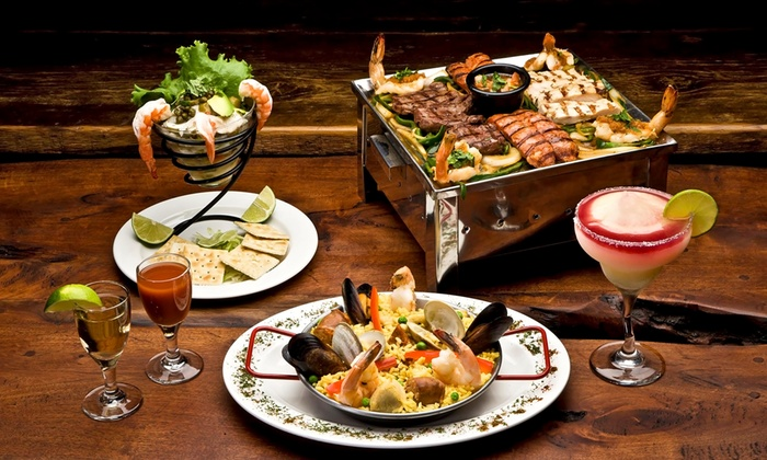 Las Ventanas  - Bar and Grill: Mexican Cuisine at Las Ventanas (Up to 40% Off). Two Options Available.