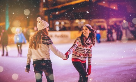 Bournemouth: 1 Night for Two with Breakfast, Spa Access and Option for Dinner and Ice Skating at The Queens Hotel & Spa