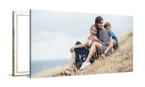 Photo Gift: Foto-lienzo personalizable de 75 x 50 cm, 120 x 90 cm o 150 x 75 cm desde 20,99 € con Photo Gift