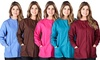 Women's Long-Sleeved Medical Scrubs Jackets