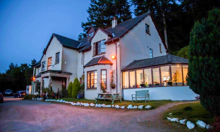 The Craigdarroch Inn - Foyers: Loch Ness: 1, 2 or 3 Nights for Two with Breakfast, Dinner and Wine at the 4* Craigdarroch Inn