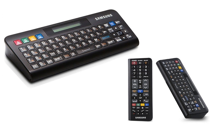 Samsung 2 In 1 Qwerty Remote Control For Samsung Smart Tvs Groupon