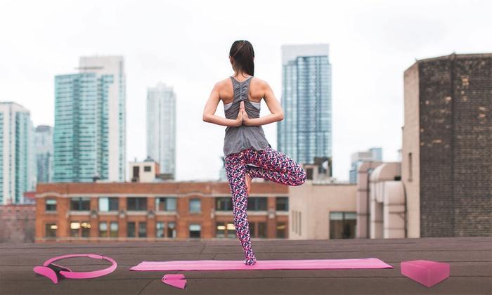 Jocca Yoga Equipment Set ... 614f2c246