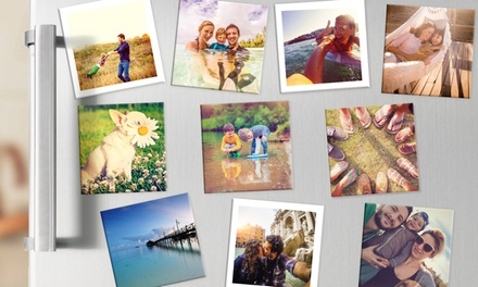 Up to 30 Personalised Fridge Magnets in Choice of Size from Photobook Shop (Up to 80% Off)