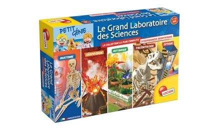 Coffret Le grand laboratoire des sciences Petit Génie Lisciani