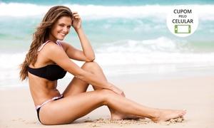 Pizzani Estética: Pizzani Estética - Santos: 4, 8 ou 12 visitas de drenagem linfática + massagem modeladora