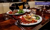 The Crazy Bear Group - Multiple Locations: Wagyu Steak, Lobster and Premium Champagne at The Crazy Bear £27 (60% Off)