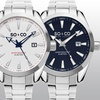 SO & CO New York Men's Stainless Steel Bracelet Dress Watch