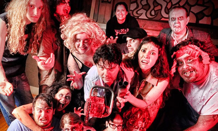 """""""Evil Dead: The Musical"""" - Lynden: """"Evil Dead: The Musical"""" for Two at Northwest Washington Fairgrounds (Half Off). Eight Options Available."""