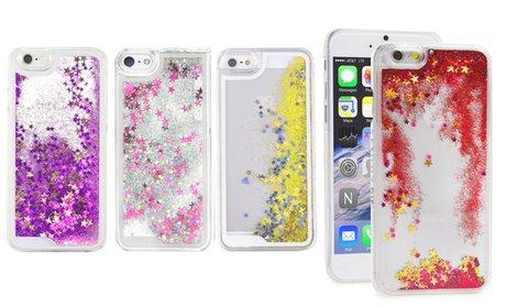 Liquid Glitter Quicksand Case for iPhone 5/5s/SE