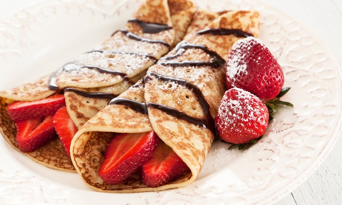 Fire Truck Crepes - Denver: Gourmet Food Truck Crepes from Fire Truck Crepes (Up to 40% Off). Two Options Available.