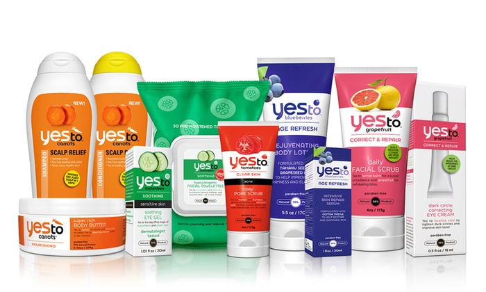 YesToCarrots.com: Natural Skincare Products from YesToCarrots.com (50% Off)