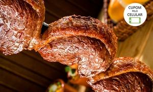 Sossego Restaurante e Pizzaria: Sossego Restaurante e Pizzaria - Cidade Ademar:rodízio de carne com buffet livre e sobremesa para 1 ou 2 pessoas