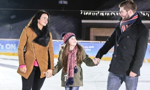 M&D's Theme Park: Ice Skating with Optional Hot Chocolate for Two or Four at M&D's Theme Park (Up to 52% Off)