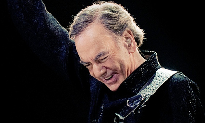 Neil Diamond - Vancouver: Neil Diamond Concert at Rogers Arena on Saturday, July 21, at 8 p.m. (Up to Half Off). Two Seating Options Available.