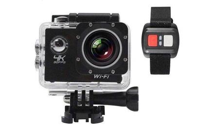 Action Sport Camera 4K full HD 1080p resistente all'acqua