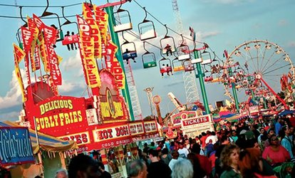 image for Admission to State Fair Meadowlands June 21–July 8 2018 (Up to 34% Off). Three Options Available
