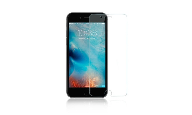 Three Pack of Tempered Glass Screen Protectors for iPhone