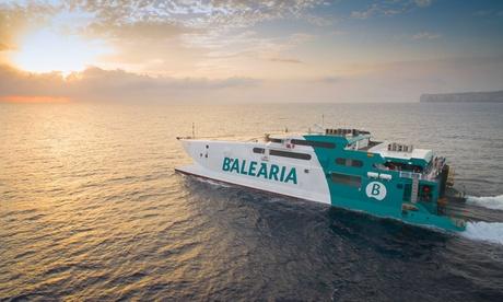 Paga de 1 a 9 € y consigue un 50-80 % de descuento en viaje de ida y vuelta para residentes y no residentes con Baleària