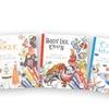 Multi-Level Creative Coloring Books (4-Pack)