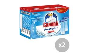 Canard Fresh Disc: Coupon de 2,50 € sur l'achat de 2 packs de recharges Canard Fresh Disc à imprimer, valable en supermarchés