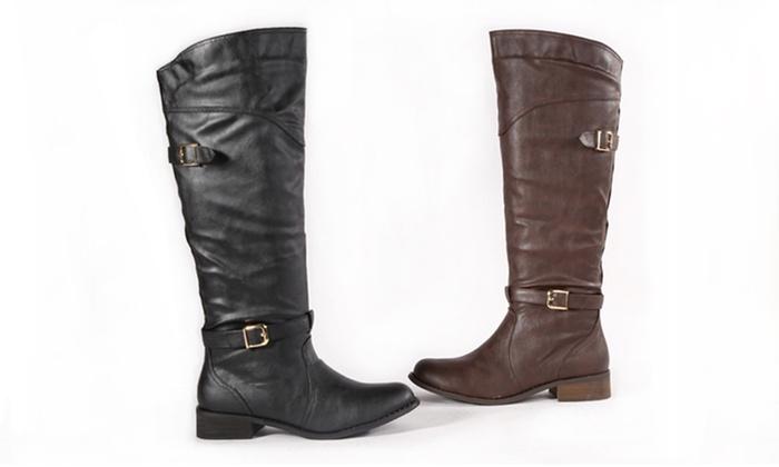 Bucco Women's Fringo Riding Boots: Bucco Women's Fringo Riding Boots. Multiple Options Available. Free Returns.