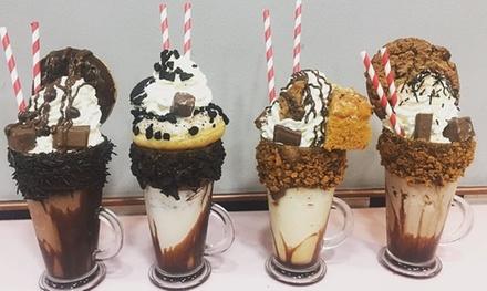 2 helados o shakes cremosos o cremosos veganos desde 5,50 € en Malvys Shakes