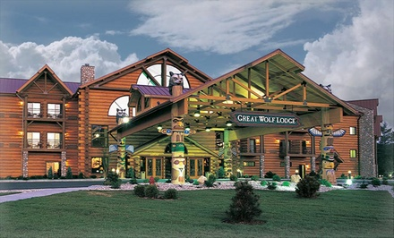 1-Night Stay for Up to 6 or 7 with Water Park Passes and $25 Resort Credit at Great Wolf Lodge Williamsburg in Virginia