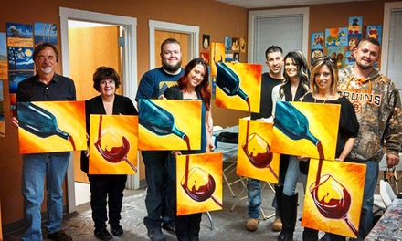 Group Painting Session for Two Adults or Two Children at Paint pARTy (Up to 57% Off)