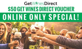 $50 Credit at Get Wines Direct