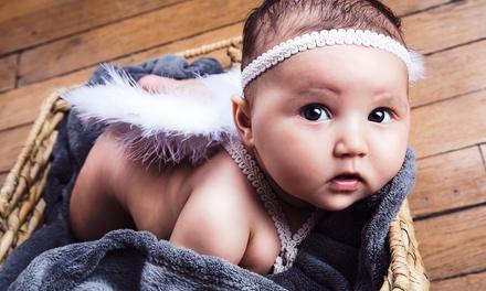Séance shooting photo pour bébé de 3 à 8 mois, maman et bébé ou parents et bébé dès 14,99 € chez ON AIR
