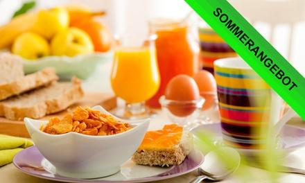 Frühstück All-you-can-eat inkl. Getränken für 2 oder 4 Personen im Restaurant PONTosPARK (bis zu 25% sparen*)