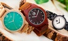 Reloj de madera Earth Wood