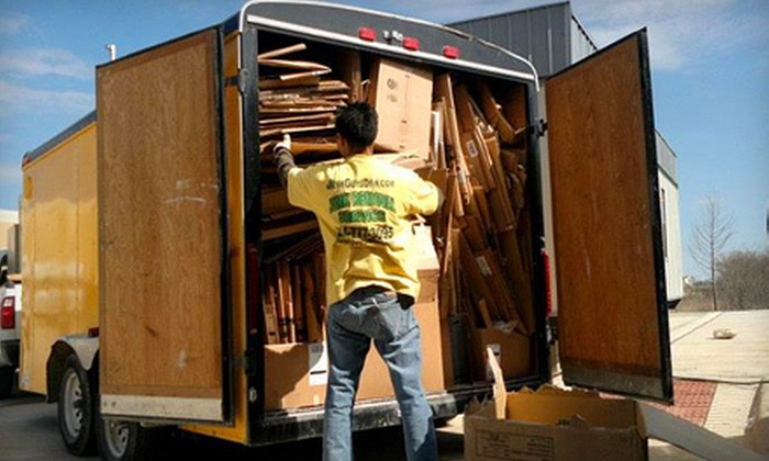 JunkGuys DFW - Summerfields: Up to 3, 4, or 8 Cubic Yards of Junk Removal from JunkGuys DFW (Up to 67% Off)