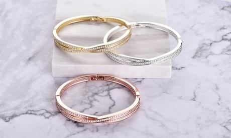 1, 2 o 3 pulseras Philip Jones decorados con cristales Swarovski®