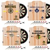 NHL Dart Cabinet Set with Darts and Board