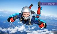Un saut en parachute en tandem avec remise de diplômeà 189 € à Skydive Center