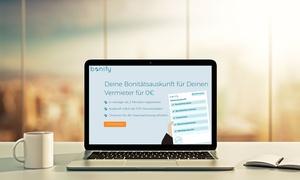 Forteil Gmbh: Kostenlose Bonitätsauskunft mit allen für Vermieter erforderlichen Informationen mit bonify