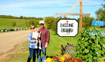 Hayride, Corn Maze, and Meal for Two, Four, or Five at Luceline Orchard (Up to 29% Off)