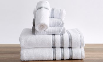 Great Bay Home 100% Cotton Jacquard Towels (2-, 4-, or 6-Pack)