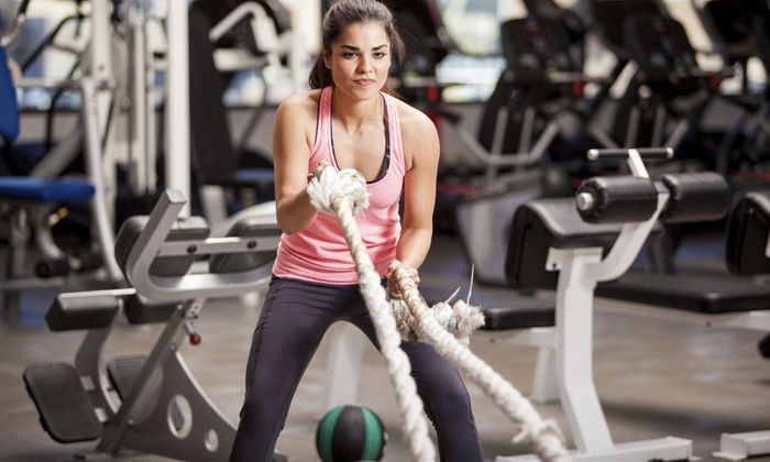 New Jersey Athletic Club - Lawrence: 1-Month HIIT Personal Training and 1-Month Membership at New Jersey Athletic Club ($175 Value)