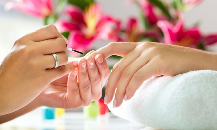 Shellac or Vinylux Manicure, Pedicure or Both at Good Hand Therapy