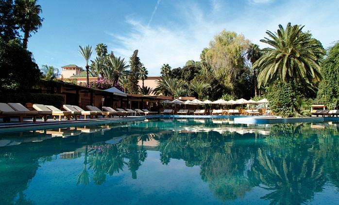 Marrakech: 1 a 9 o 14 noches para 3 con desayuno y acceso al club nocturno en Es saadi Marrakech Resort – Hotel 5*