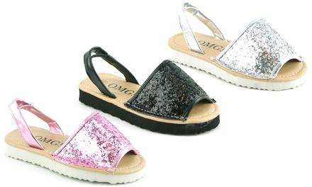 Kids Sling Back Sandals