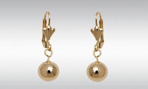 12mm Ball Drop Earrings
