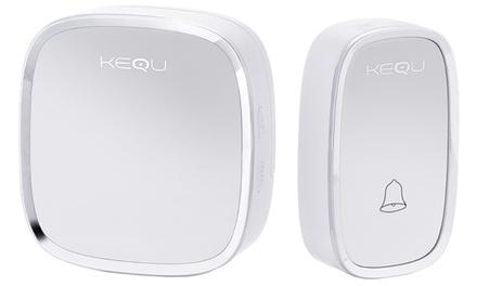 One or Two Kequ Wireless Doorbells