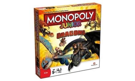 Junior Monopoly Dragons Edition